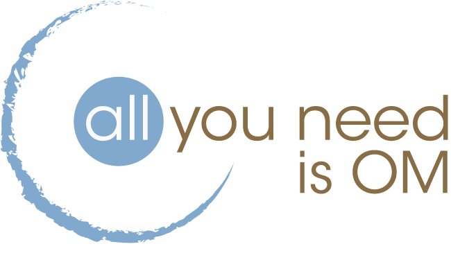 all you need is OM - LOGO